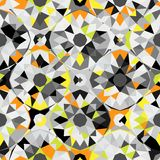 Teste padrão geométrico colorido Fotos de Stock