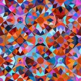 Teste padrão geométrico colorido Imagens de Stock