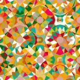 Teste padrão geométrico colorido Imagem de Stock