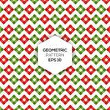 Teste padrão geométrico com forma quadrada Imagem de Stock Royalty Free