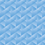 Teste padrão geométrico com retângulos azuis Ilustração do vetor Fotografia de Stock Royalty Free