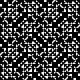Teste padrão geométrico complexo ilustração do vetor