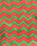 Teste padrão geométrico da aquarela abstrata o teste padrão com ziguezague alinha para o fundo, papel de parede, matéria têxtil V ilustração do vetor