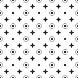 Teste padrão geométrico da estrela Vetor sem emenda Imagens de Stock