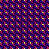 Teste padrão geométrico da tendência moderna Ilustração do Vetor