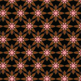 Teste padrão geométrico de Ancara do Afro Fotos de Stock Royalty Free