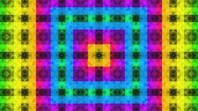 Teste padrão geométrico de matéria têxtil Teste padrão colorido Imagem de Stock Royalty Free