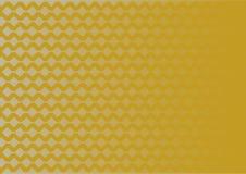 Teste padrão geométrico de prata do inclinação no fundo do ouro Foto de Stock Royalty Free
