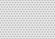 Teste padrão geométrico de prata no fundo branco Foto de Stock Royalty Free