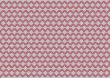 Teste padrão geométrico de prata no fundo do ouro da rosa do rosa Fotos de Stock Royalty Free