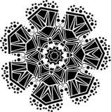Teste padrão geométrico decorativo Foto de Stock