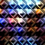 Teste padrão geométrico diagonal abstrato Imagens de Stock