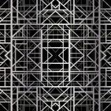 Teste padrão geométrico do art deco Fotos de Stock