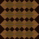 Teste padrão geométrico do art deco Vetor Fotos de Stock