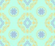 Teste padrão geométrico do barocco Fotografia de Stock Royalty Free