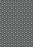 Teste padrão geométrico do fundo Ilustração do Vetor