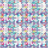 Teste padrão geométrico do fundo abstrato colorido Ilustração do Vetor