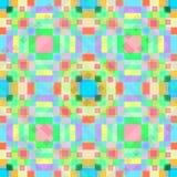 Teste padrão geométrico do fundo do papel de parede de Abstaktny Ilustração Stock