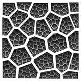 Teste padrão geométrico do grayscale abstrato Foto de Stock Royalty Free
