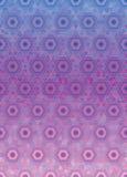 Teste padrão geométrico do hexágono ilustração royalty free