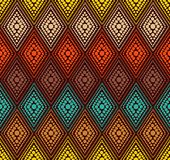 Teste padrão geométrico do ponto abstrato da cor Imagens de Stock Royalty Free