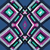 Teste padrão geométrico do retangle Fotografia de Stock Royalty Free