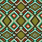 Teste padrão geométrico do retangle Imagem de Stock Royalty Free
