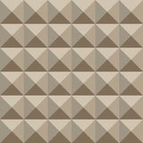 Teste padrão geométrico do Sepia Fotos de Stock Royalty Free