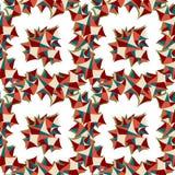 Teste padrão geométrico do sumário colorido do fundo Ilustração do Vetor