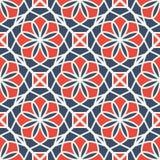 Teste padrão geométrico do vetor Foto de Stock