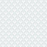 Teste padrão geométrico do vetor do art deco no branco de prata. Foto de Stock Royalty Free