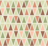 Teste padrão geométrico do vetor sem emenda com triângulos Imagem de Stock
