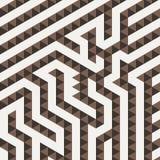 Teste padrão geométrico do vetor sob a forma da Fotografia de Stock