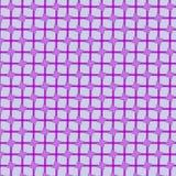 teste padrão geométrico dos quadrados roxos imagem de stock royalty free