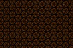 Teste padrão geométrico escuro abstrato dos prismas Textura da grade da geometria A flor de prisma figura o fundo Maro verde marr imagens de stock royalty free