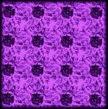 teste padrão geométrico floral do drawnd da mão Fotos de Stock