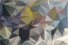 Teste padrão geométrico, fundo dos triângulos Imagem de Stock