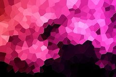 Teste padrão geométrico moderno abstrato ilustração stock