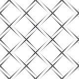 Teste padrão geométrico monocromático Imagens de Stock Royalty Free