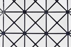 Teste padrão geométrico monocromático sem emenda Imagens de Stock