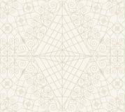 Teste padrão geométrico monocromático sem emenda do vintage Fotografia de Stock