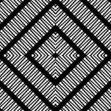Teste padrão geométrico pontilhado sem emenda do projeto Foto de Stock