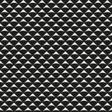 Teste padrão geométrico preto e branco sem emenda Imagem de Stock