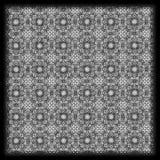teste padrão geométrico preto e branco tirado mão Imagem de Stock