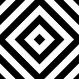 Teste padrão geométrico repetível Backgr angular monocromático abstrato ilustração royalty free