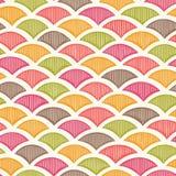 Teste padrão geométrico retro ilustração stock