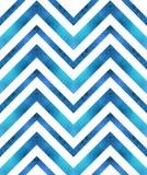Teste padrão geométrico retro sem emenda com linhas do ziguezague Foto de Stock Royalty Free