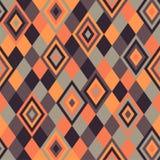 Teste padrão geométrico - rhombus Fotos de Stock Royalty Free