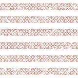 Teste padrão geométrico sem emenda étnico do envelhecido Imagens de Stock Royalty Free