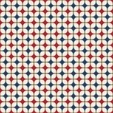Teste padrão geométrico sem emenda abstrato imagens de stock